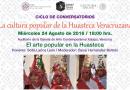 24 de agosto. Conversatorio sobre la Huasteca Veracruzana