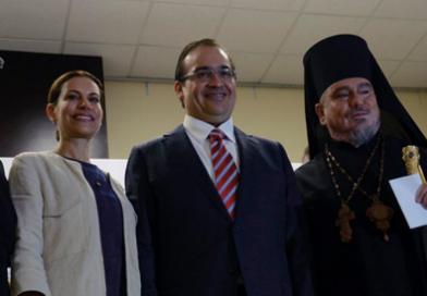 Duarte promulga reforma anti ILE, acompañado de líderes religiosos