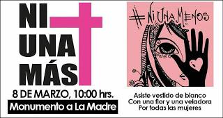 8 de marzo. Mujeres Periodistas realizarán manifestación Por La Paz y Contra Feminicidios en Minatitlán
