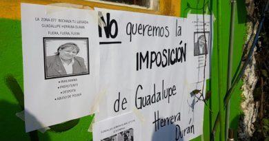 SEV impone supervisora en zona escolar 77 de Banderilla; los Maestros se manifiestan